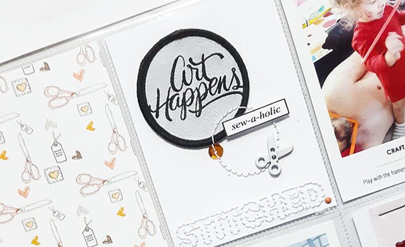 Hybrid Scrapbook - My Approach - Sahin Designs