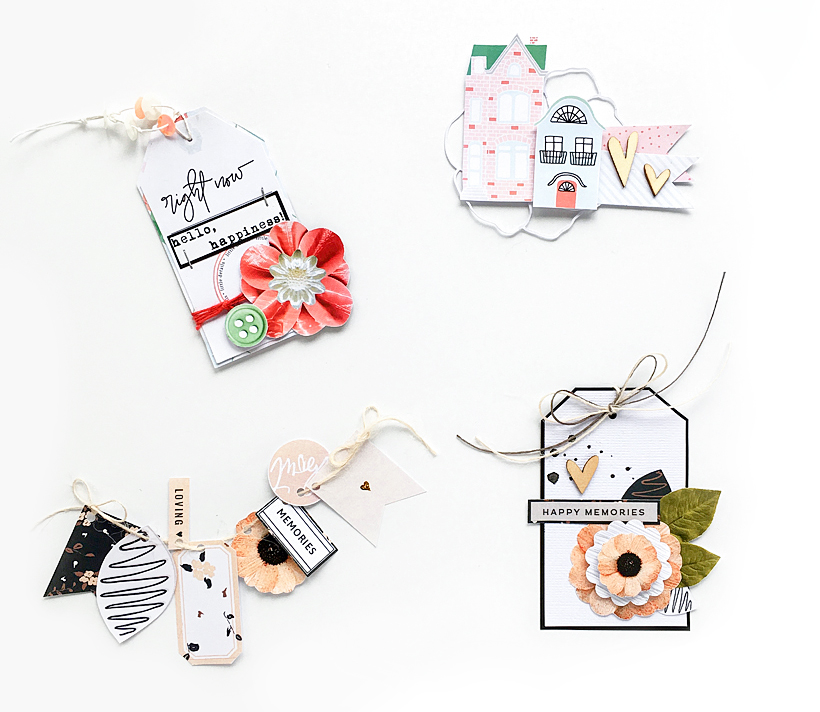 How to Make your Own Ready-to-use Scrapbook Embellishments - Sahin Designs