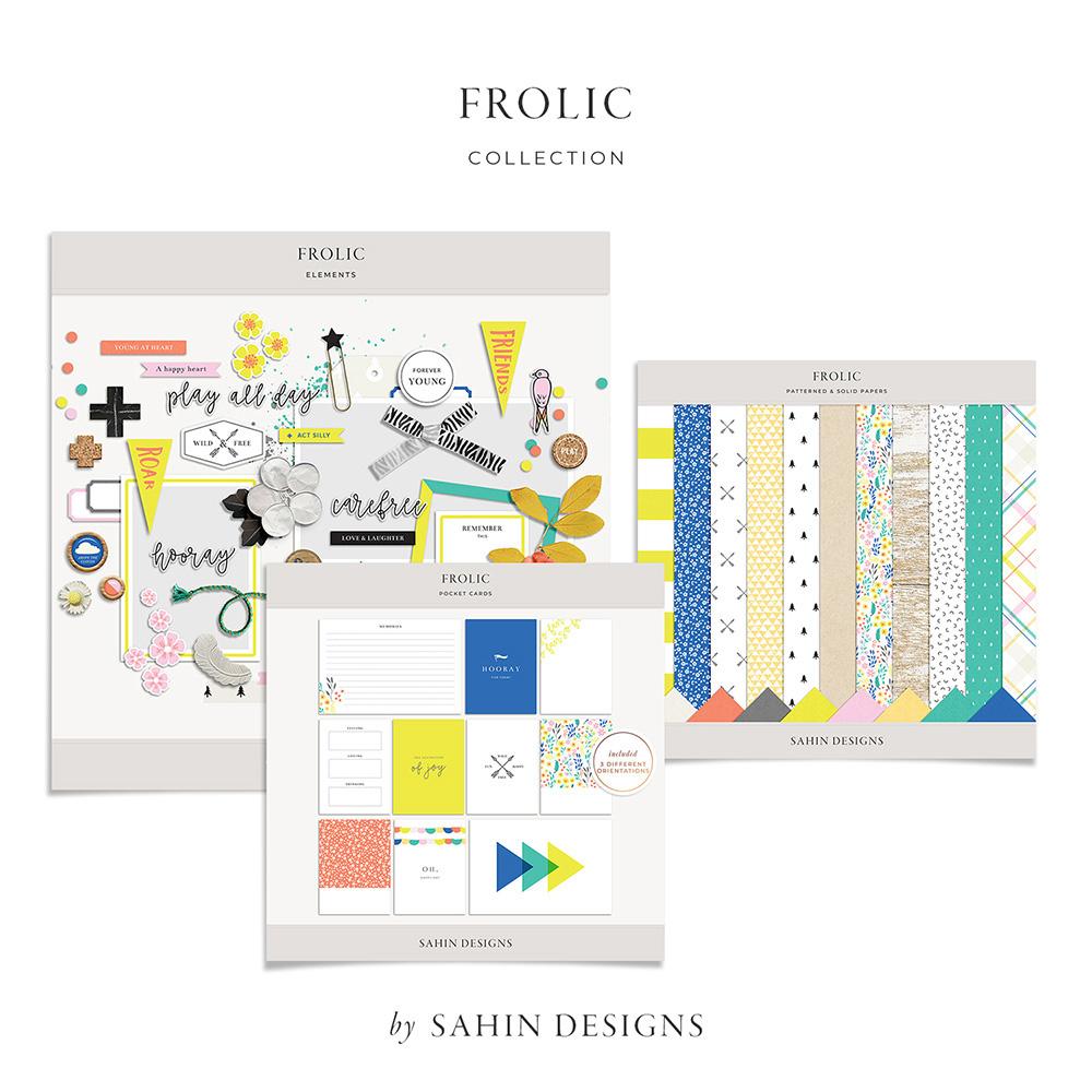 Frolic Digital Scrapbook Collection - Sahin Designs