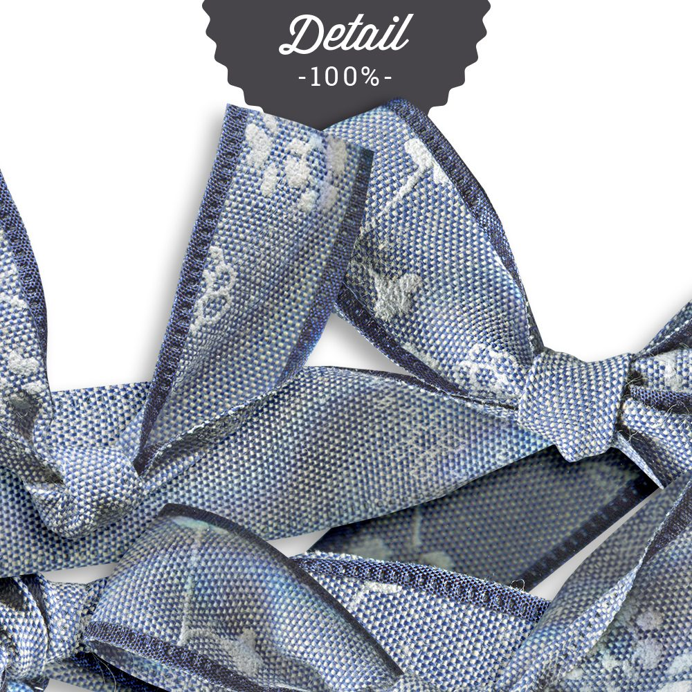 Extracted blue embroidered ribbons - Sahin Designs - CU Digital Scrapbook