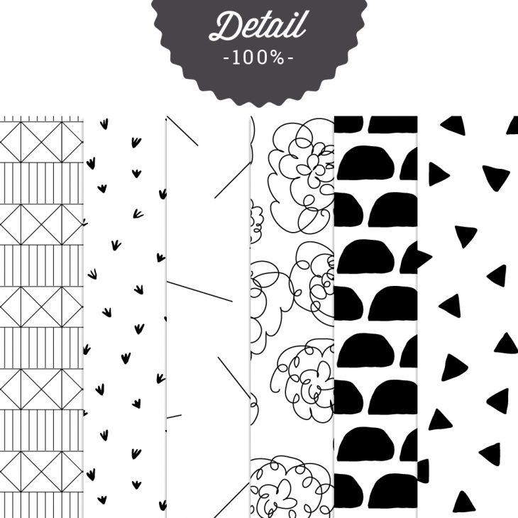 Digital Tileable Patterns No.16 - Sahin Designs - Commercial Use Digital Scrapbooking