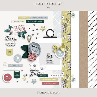 Limited Edition Digital Scrapbook Kit - Sahin Designs