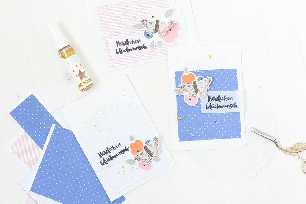 Create a congratulations card in 4 steps