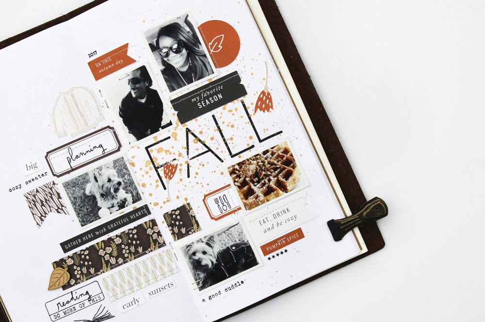 Showcasing Many Photos in Traveler's Notebook - Sahin Designs - Scrapbook Tips