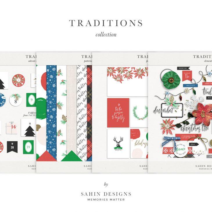Traditions Digital Scrapbook Collection - Sahin Designs