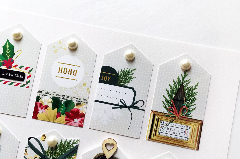 3 Uses for tags created with digital scrapbook elements - Sahin Designs