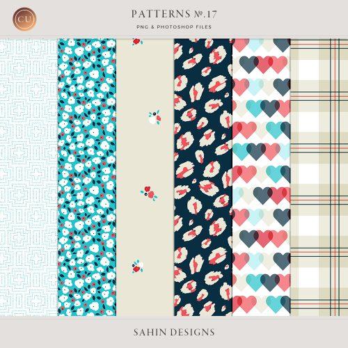 Patterns No.17 - Sahin Designs - CU Digital Scrapbook
