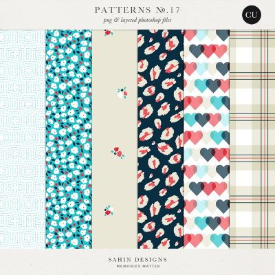 Patterns No.17 - Sahin Designs - CU Digital Scrapbook