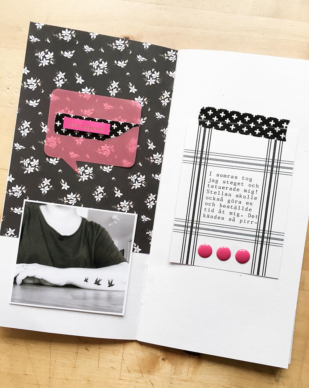 Christmas Travelers Notebook spread - Sahin Designs
