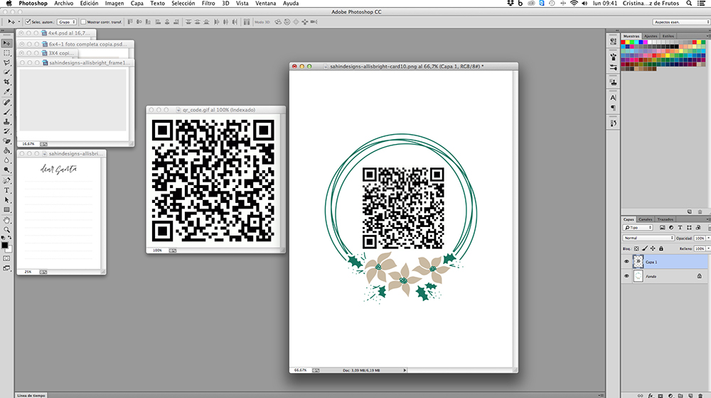 How to attach videos to scrapbook projects - Sahin Designs