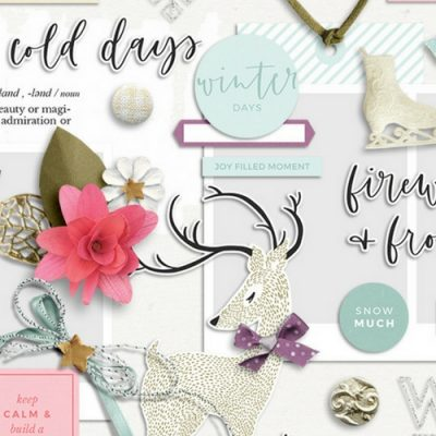 Firewood & Frost Digital Scrapbook Collection - Sahin Designs
