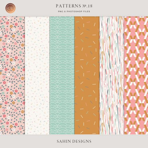 Patterns No.18 - Sahin Designs - CU Digital Scrapbook