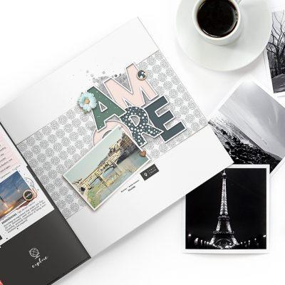 February Creative Scrapbook Gallery 2018 - Sahin Designs