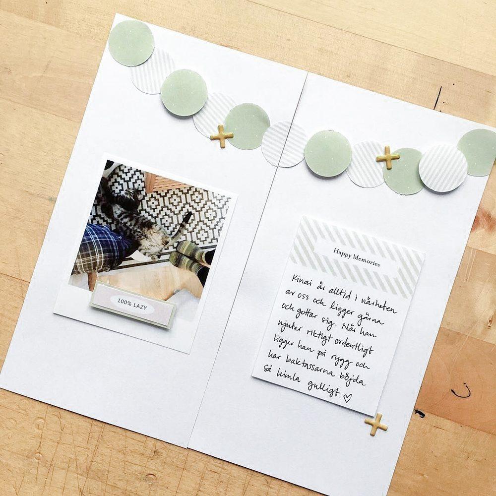 Everyday life hybrid scrapbook layout - Sahin Designs