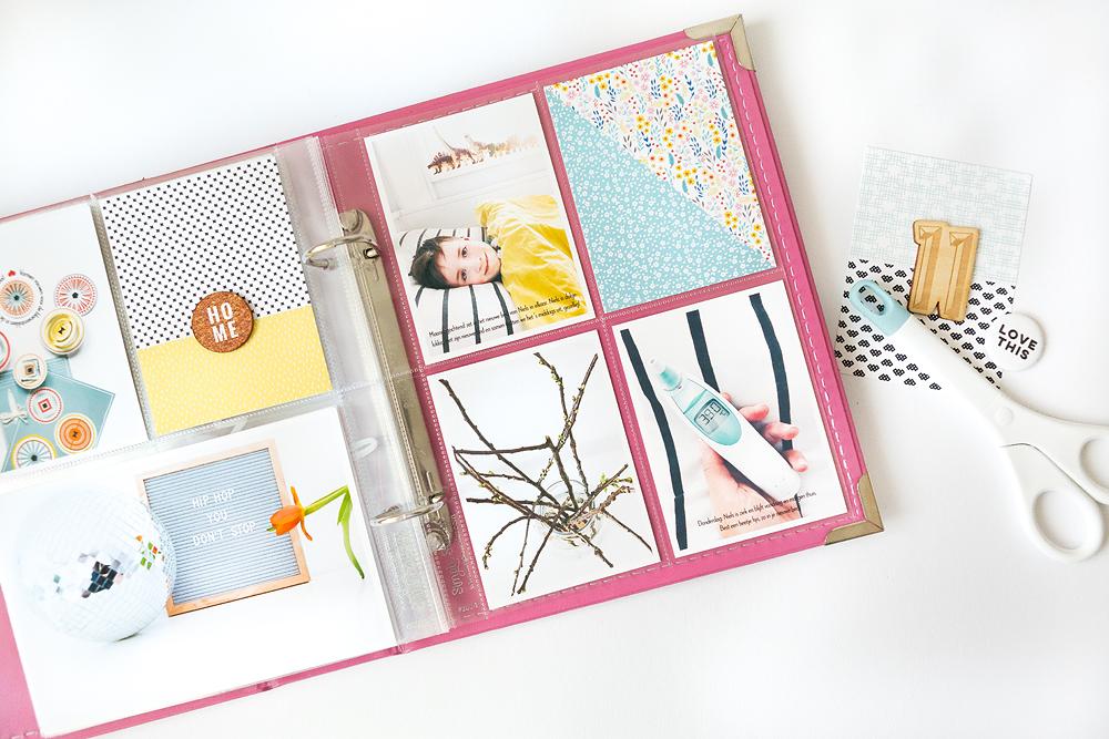 Three ways to make unique scrapbooking cards - Sahin Designs