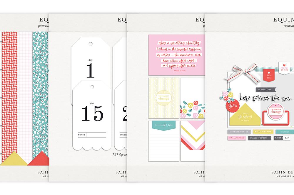 Equinox Digital Scrapbook Collection - Sahin Designs