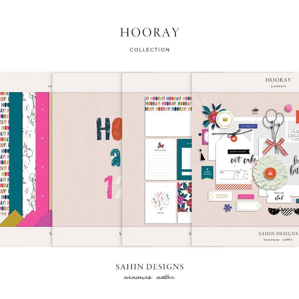 Hooray Digital Scrapbook Collection - Sahin Designs