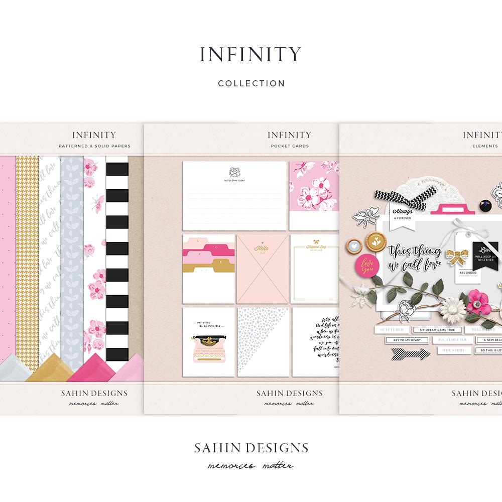 Infinity Digital Scrapbook Collection - Sahin Designs