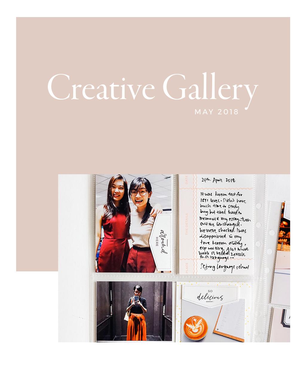 May Creative Gallery