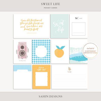 Sweet Life Digital Scrapbook Elements - Sahin Designs