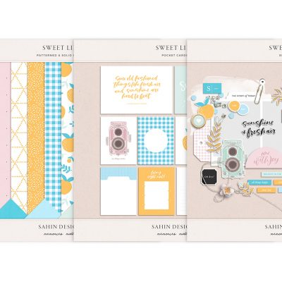 Sweet Life Digital Scrapbook Collection - Sahin Designs