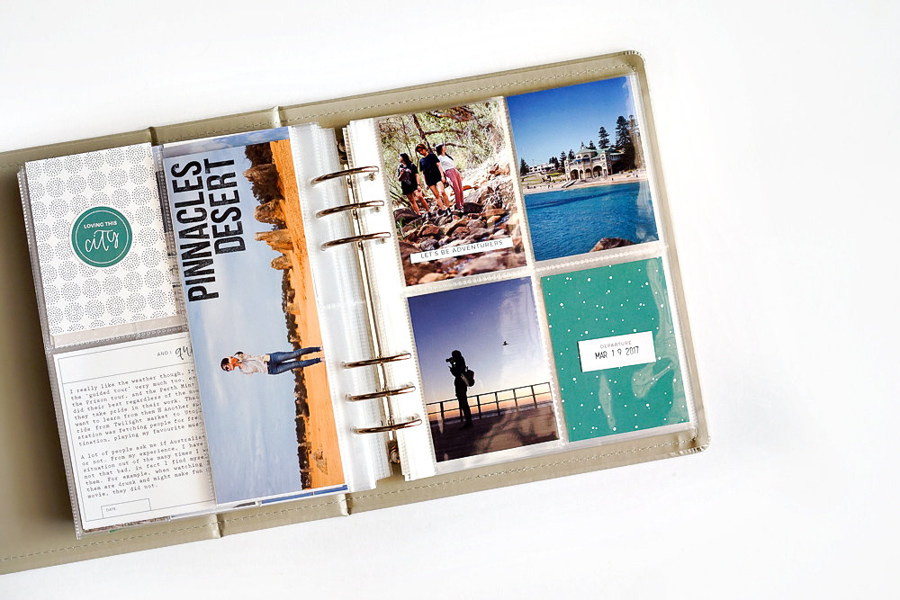 Scrapbook A Long Vacation In Project Life Album In 4 Steps Sahin