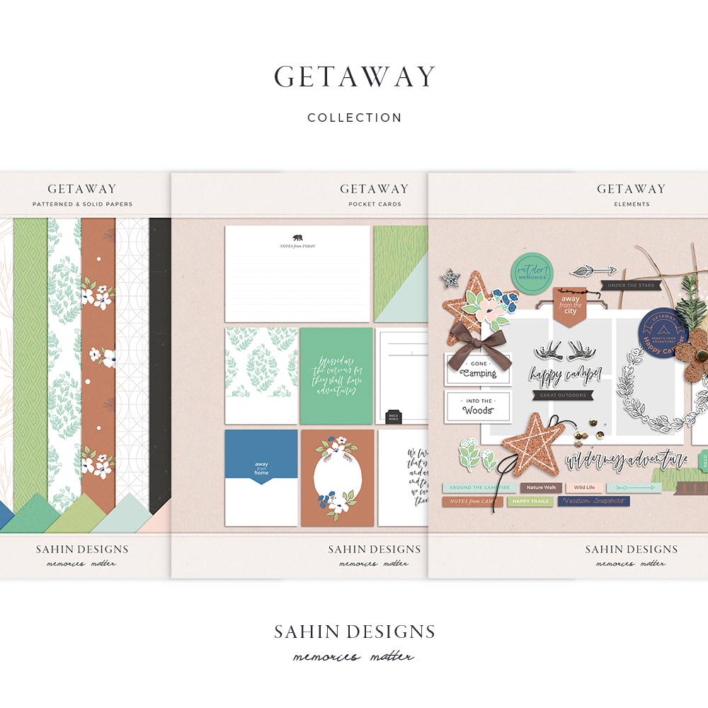 Getaway Digital Scrapbook Collection - Sahin Designs