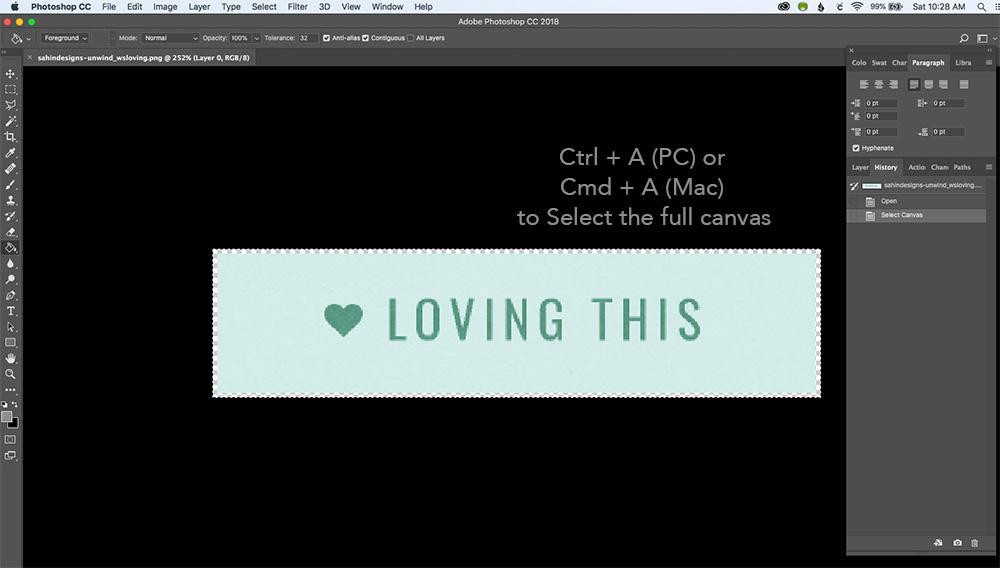 Top 5 favorite Photoshop shortcuts for scrapbooking - Sahin Designs