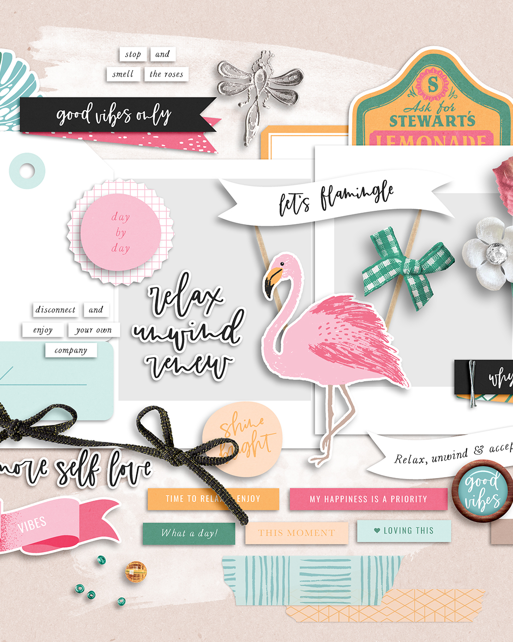Shop update   Unwind collection & June layout templates