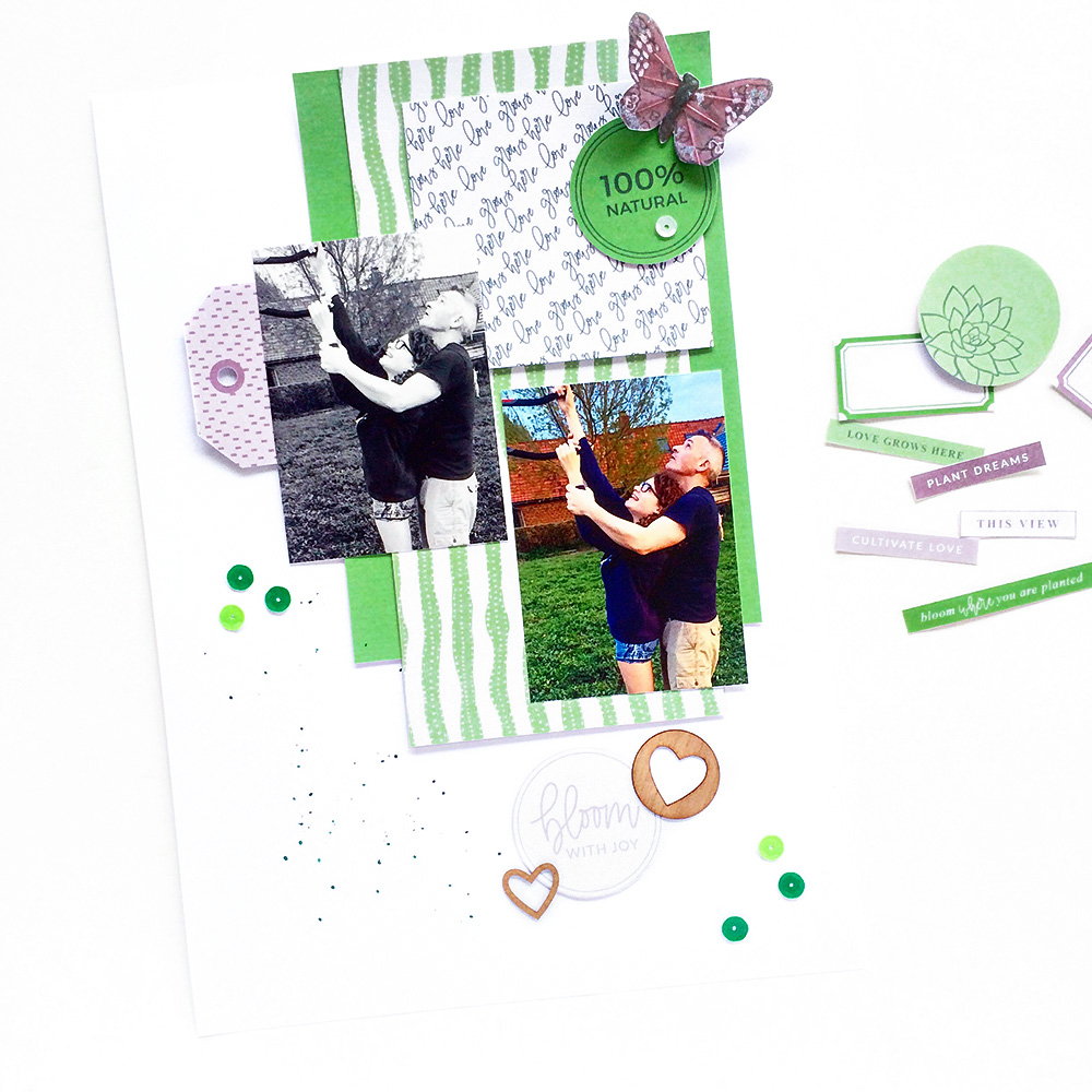 5 Ways to use a scrapbook layout sketch - Sahin Designs