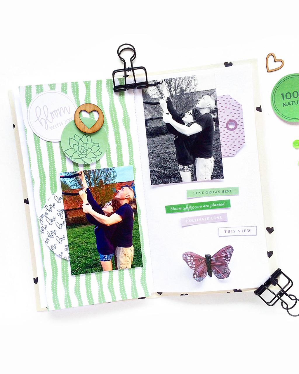 5 Ways to use a scrapbook layout sketch - Sahin Designs
