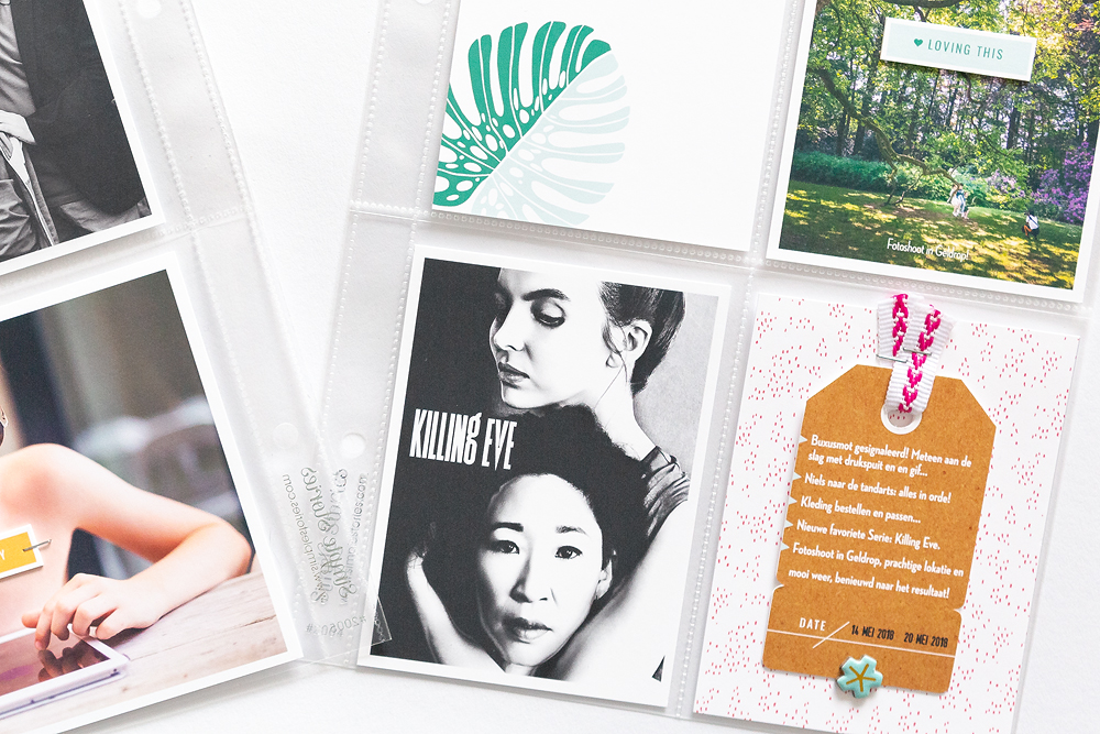 4 ways of scrapbooking with few or no photos - Sahin Designs