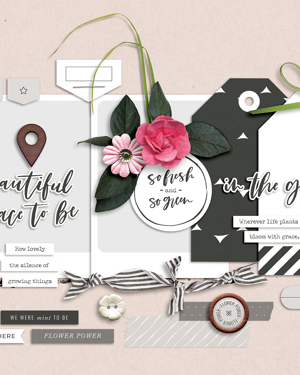 Shop update   Garden Party collection  & July templates
