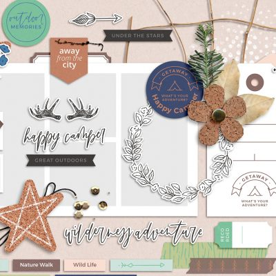 Getaway Digital Scrapbook Collection - Sahin Designs