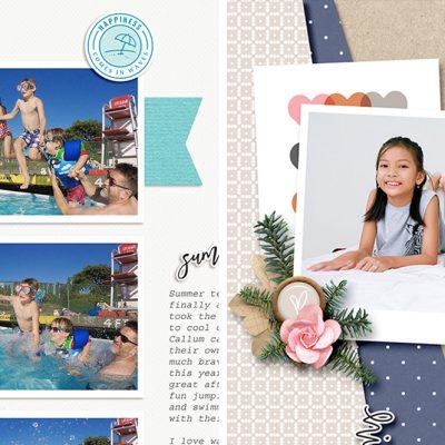 July Creative Scrapbook Gallery 2018 - Sahin Designs