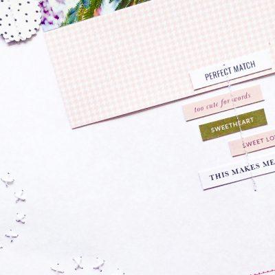 10 creative ways of using stitching in scrapbooking - Sahin Designs