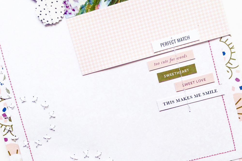 10 creative ways of using stitching in scrapbooking - Sahin Designs