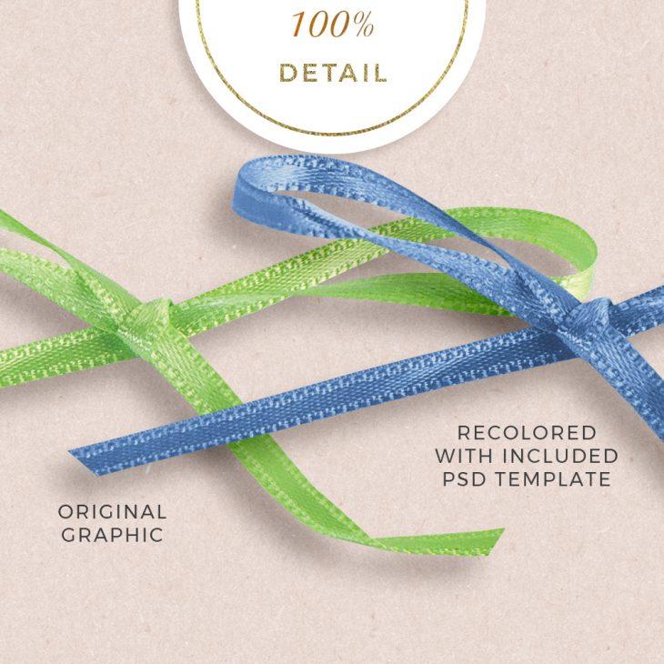 Extracted thin ribbons no.19 - Sahin Designs - CU Digital Scrapbook