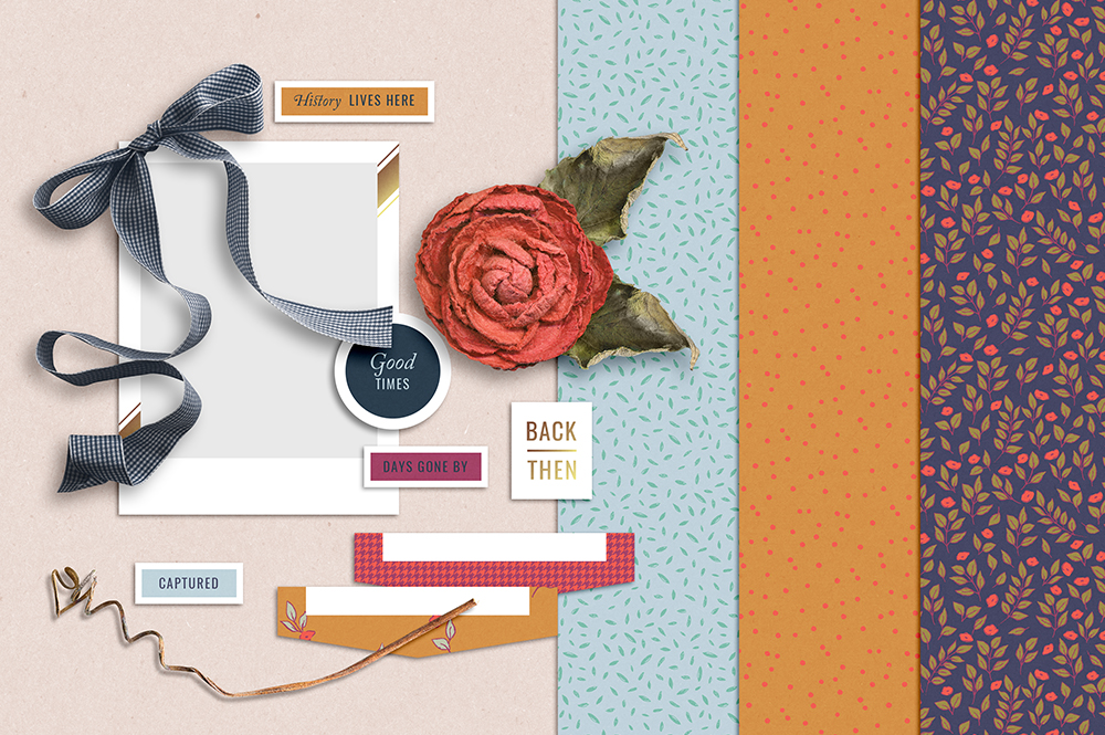 It's About Time Free Digital Scrapbook Kit - Sahin Designs