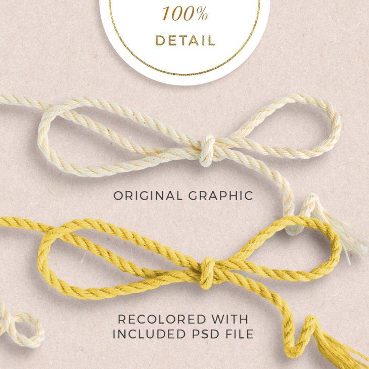 Extracted Cream Strings - Sahin Designs - CU Digital Scrapbook
