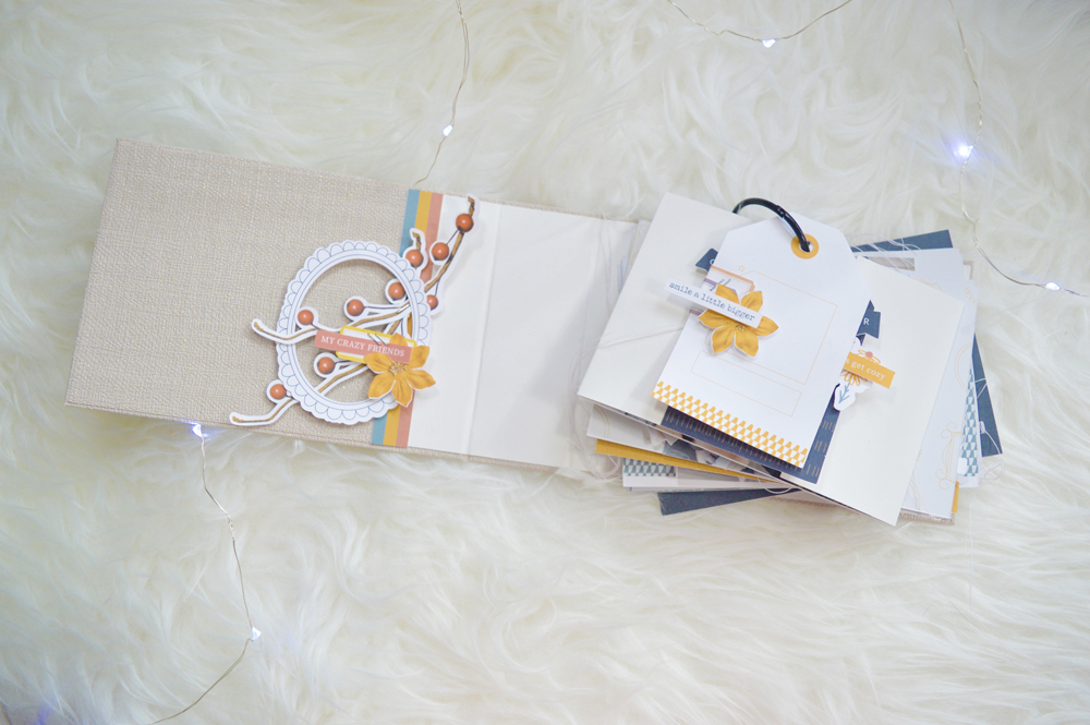 My class to Florence in a tiny book - Sahin Designs