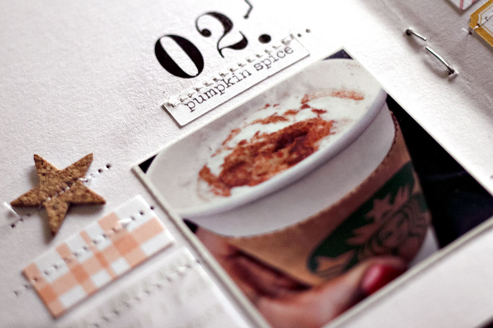 How to get inspired by a magazine layout for scrapbooking