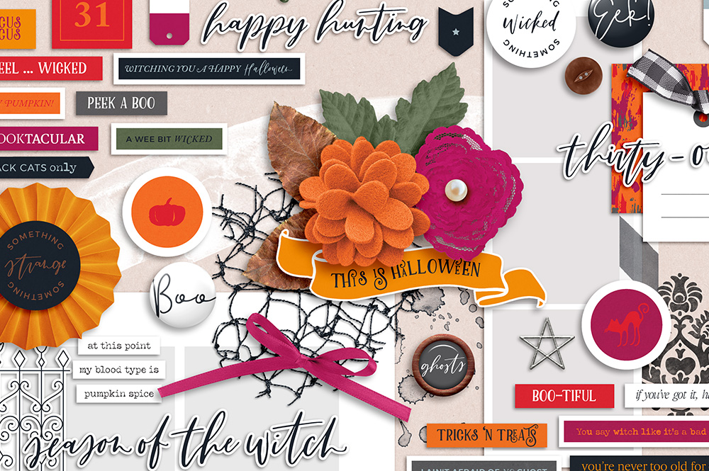 Something Wicked Digital Scrapbook Collection - Sahin Designs - Sabrina's Creations