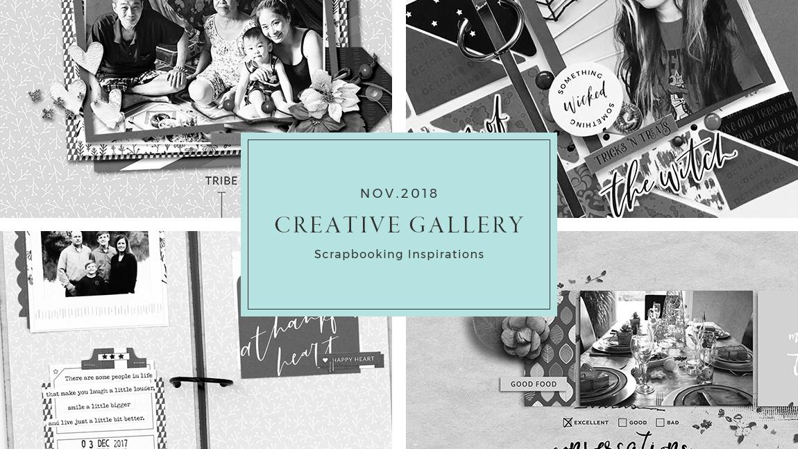 November Creative Gallery