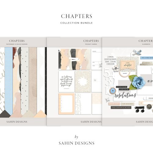 Chapters Digital Scrapbook Collection - Sahin Designs