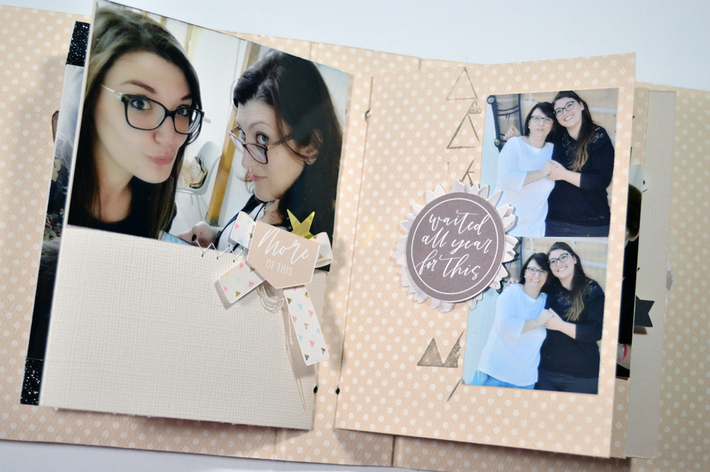 How to make DIY scrapbook album cover - Sahin Designs