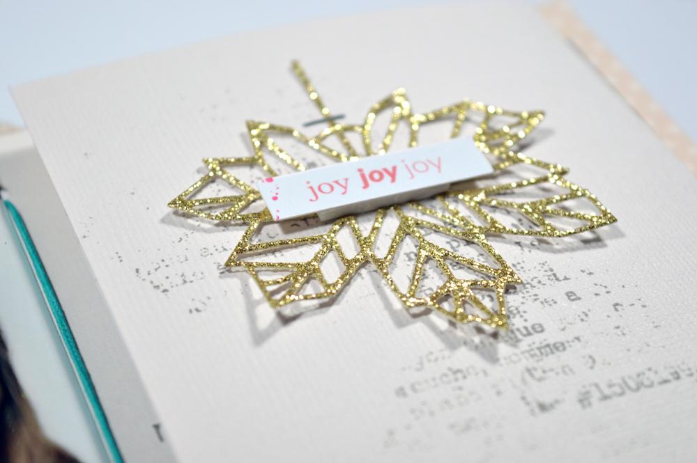 How to make DIY scrapbook album cover - Sahin Designs