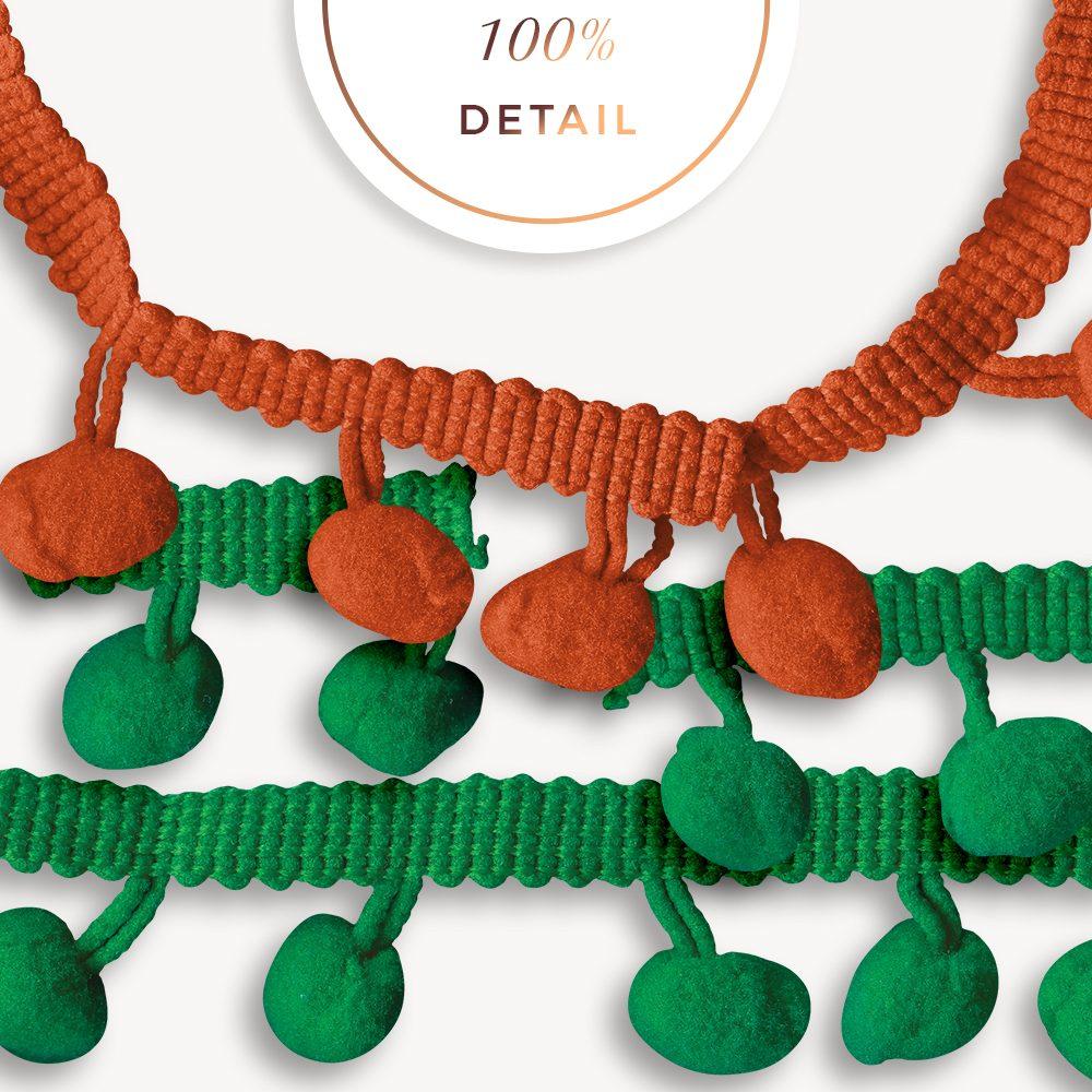 Extracted pompom ribbons - Sahin Designs - CU Digital Scrapbook
