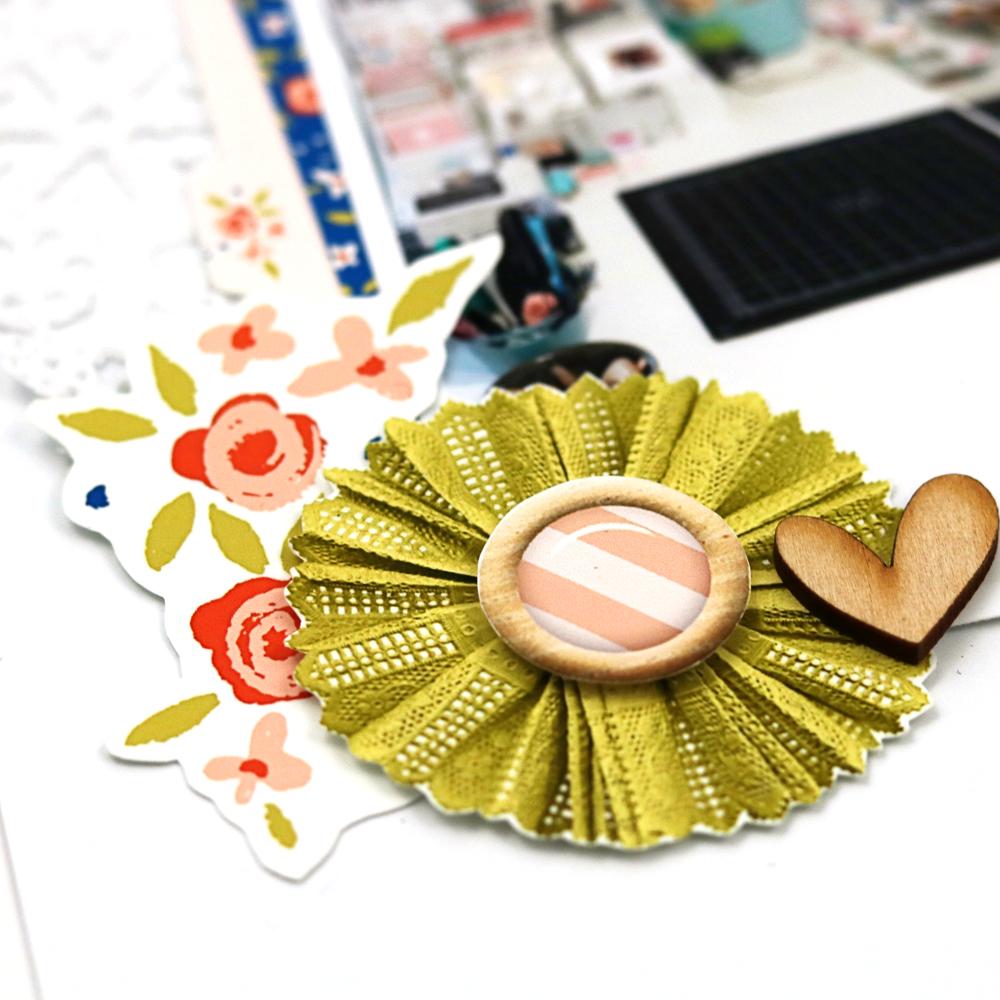 5 ways to make a scrapbook layout more fun - Sahin Designs