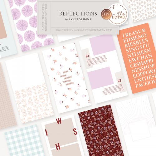 Reflections Traveler's Notebook Kit - Sahin Designs